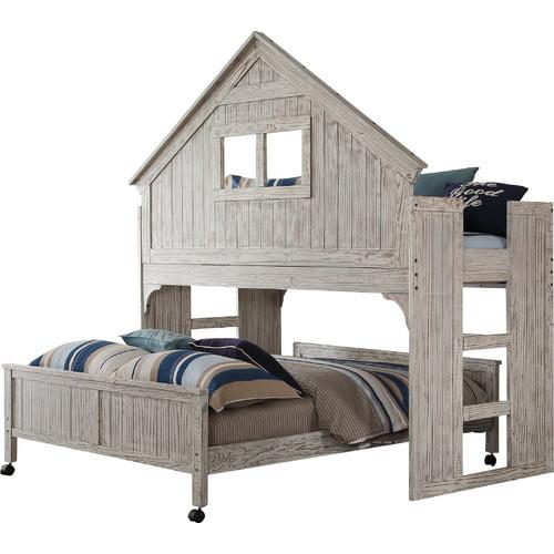 Donco Kids Club House Low Loft Bed Walmart