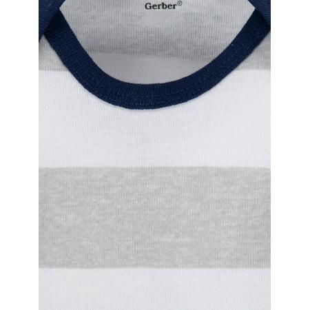 Onesies® Brand Baby Boy Short Sleeve Onesies Bodysuits, 8-Pack
