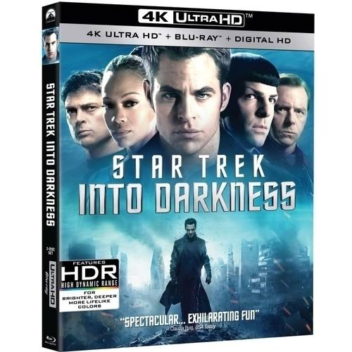Star Trek: Into Darkness (4K UltraHD + Blu-ray + Digital HD) (With INSTAWATCH)