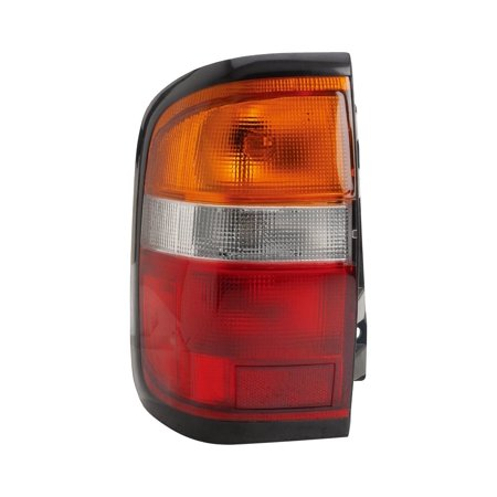 Dorman 1610802 Tail Light For Nissan Pathfinder, Amber, Clear & Red