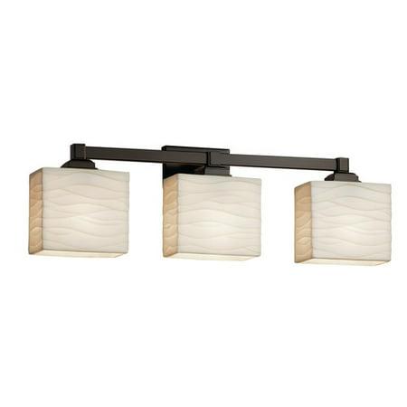 Justice Design Group Porcelina Regency 3 Light Vanity -