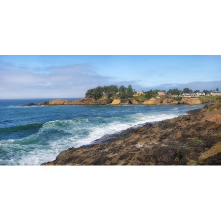Scenic view of Oregon Coast, Lincoln City, Lincoln County, Oregon, USA Print Wall (Lincoln City Oregon Mall)