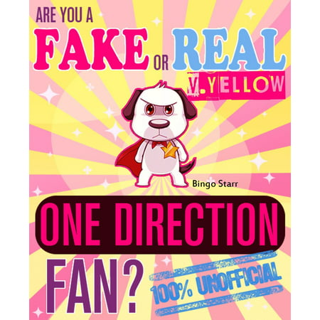 Are You a Fake or Real One Direction Fan? Version Yellow: The 100% Unofficial Quiz and Facts Trivia Travel Set Game - eBook](Trivia Quiz Halloween)