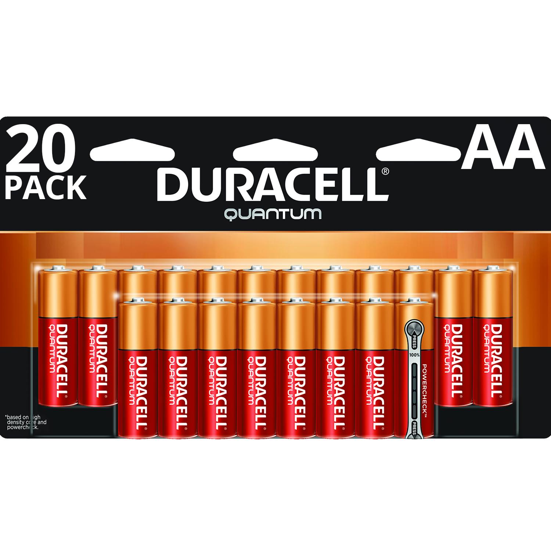 duracell 1 5v quantum alkaline aa batteries with. Black Bedroom Furniture Sets. Home Design Ideas