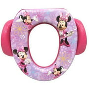 """Disney Minnie Mouse """"Bowtique"""" Soft Potty Seat with Potty Hook"""