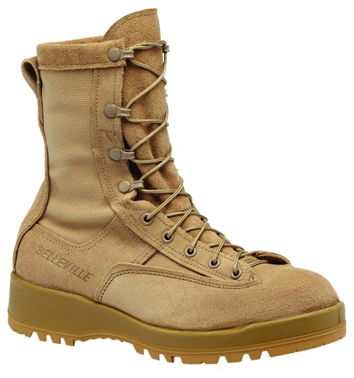 "Belleville 790ST Men 8"" Waterproof Steel Toe Combat Boot US Made EH Rated"