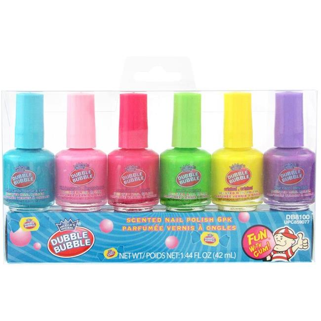 Dubble Bubble 2131243 Scented Nail Polish - Pack of 6 - Case of 48