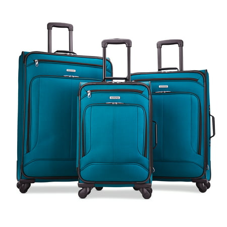 American Tourister POP Max 3 Piece Softside Luggage Set American Tourister Ilite Luggage