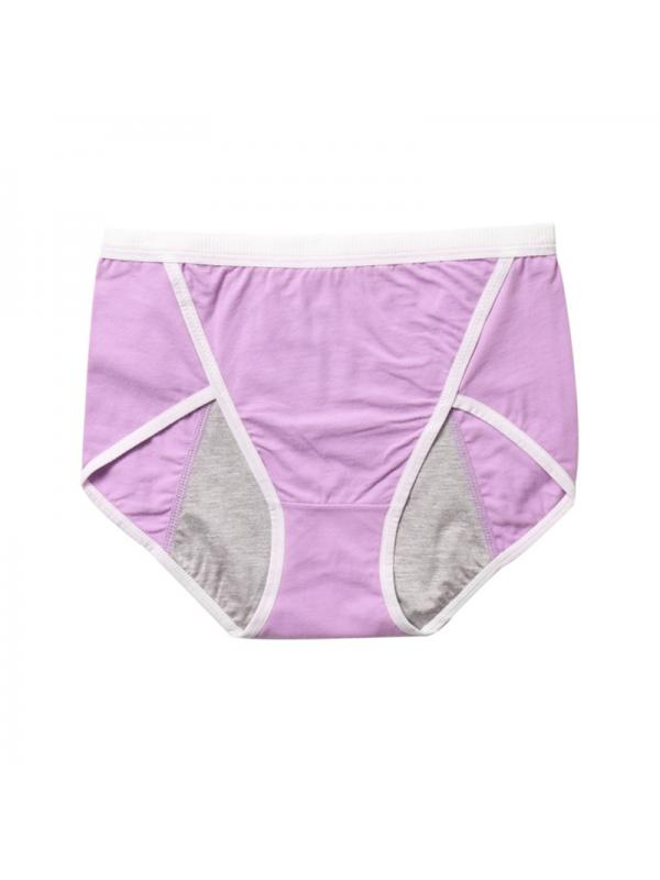 Ropalia Women Menstrual Period Physiological Leakproof Panties Cotton Briefs