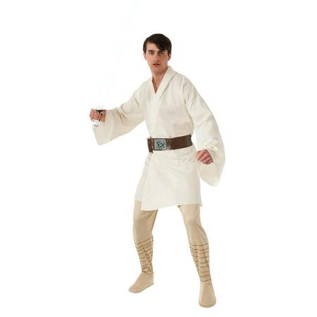 Luke Skywalker Adult Costume R888739 - Standard Large - Luke And Leia Costumes