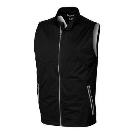 Cutter & Buck Men's Fairway Full Zip Performance Golf Vest