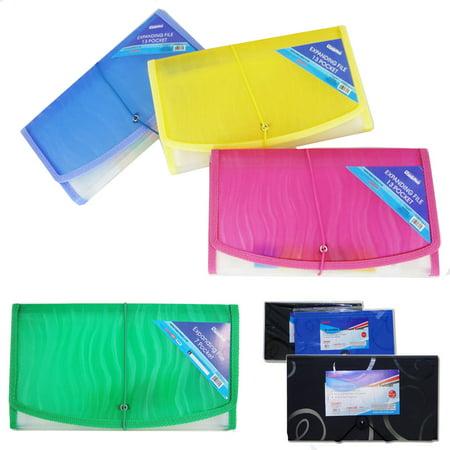 7 Pocket Coupon Organizer Holder Binder Expanding File Wallet Organizer Carrier