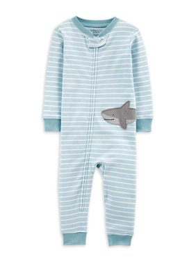 Little Planet Organic by Carter's Toddler Boy Footless Snug Fit Cotton Zip Up Sleeper Pajamas