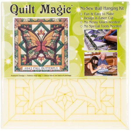 Fall Butterfly Quilt Magic Kit Fall Butterfly