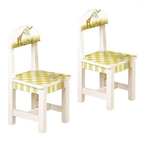 Fantasy Fields - Alphabet Set of 2 Chairs