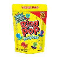 Ring Pop Candy Variety Party Pack, Assorted Flavor Lollipop Suckers, 20 Count