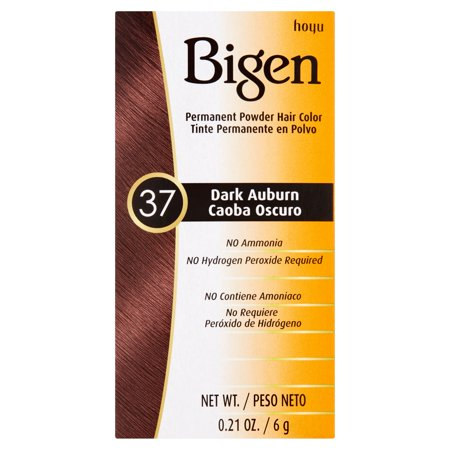 Hoyu Bigen 37 Dark Auburn Permanent Powder Hair Color  0 21 Oz