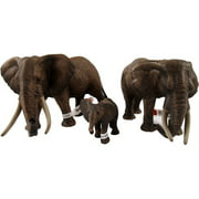 Schleich African Elephant Family Figurine Set