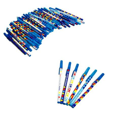 Autism Awareness Stick Pens (Fun Pens)