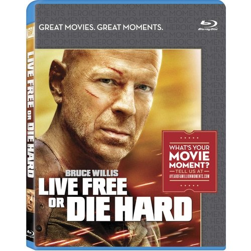 Walmart Live Free Or Die Hard (blu - ray) (widescreen)
