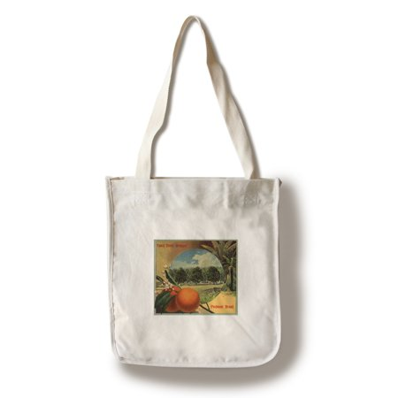 Piedmont Brand   California   Citrus Crate Label  100  Cotton Tote Bag   Reusable