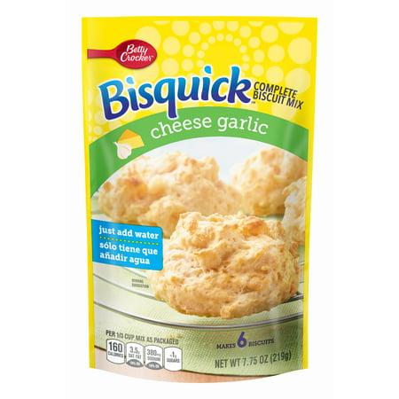 Betty Crocker Bisquick Cheese Garlic Complete Biscuit Mix, 7.75 - Cheese Biscuit Mix