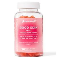Glow Habit Good Skin Habit Gummy Vitamins, 90 Count