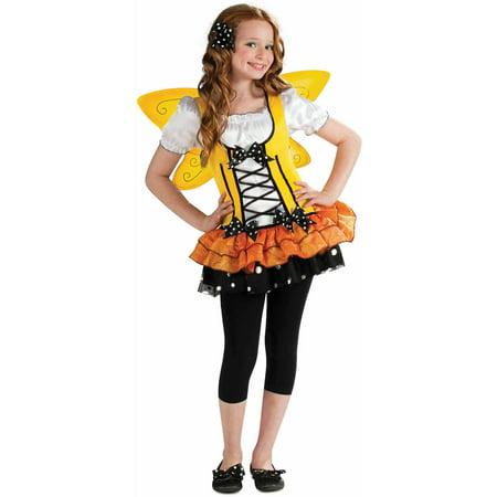 Orange Butterfly Girls Dress Halloween Costume - Walmart.com