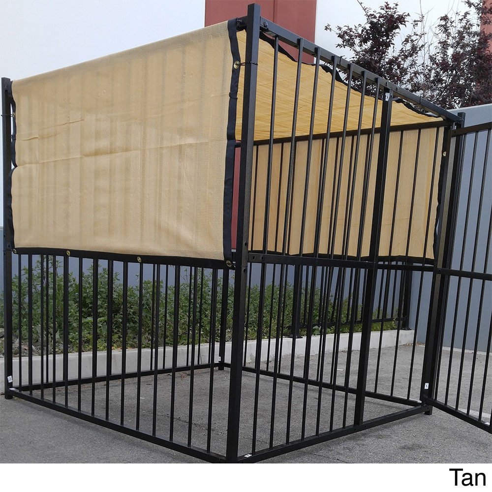Xcel Fence, Inc. UV Rated Dog Kennel Shade Cover (5' x 10')