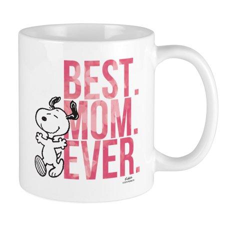CafePress - Snoopy Best Mom Ever Mug - Unique Coffee Mug, Coffee Cup