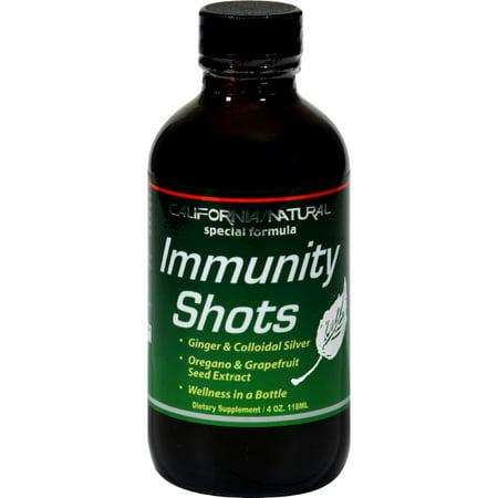 California Natural Immunity Shots - 4 fl (California Natural Wellness Shots)