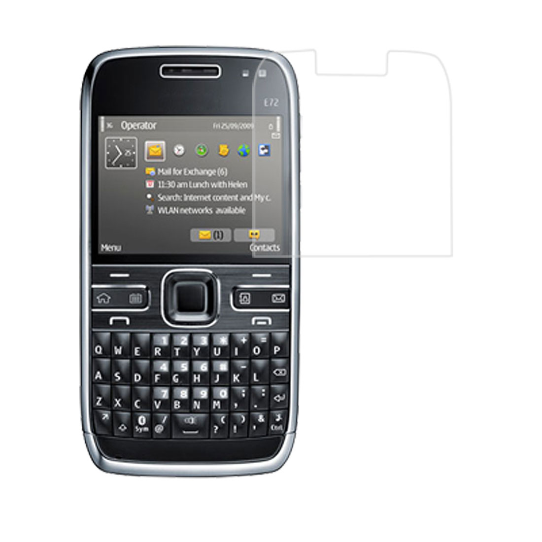 Unique Bargains Anti Dust Clear LCD Screen Protector Film for Nokia E72