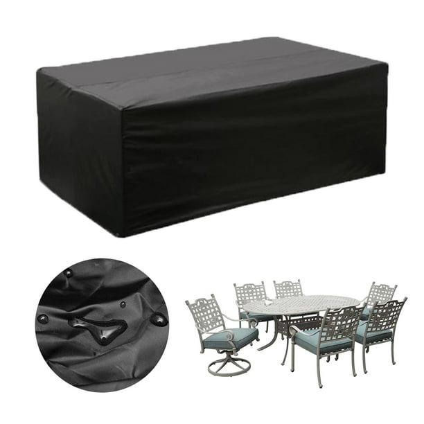 Garden Patio Furniture Cover Waterproof, Patio Table Covers Rectangular