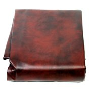 8' Heavy Duty Fitted Leatherette Pool Table Cover Burgundy Billiard