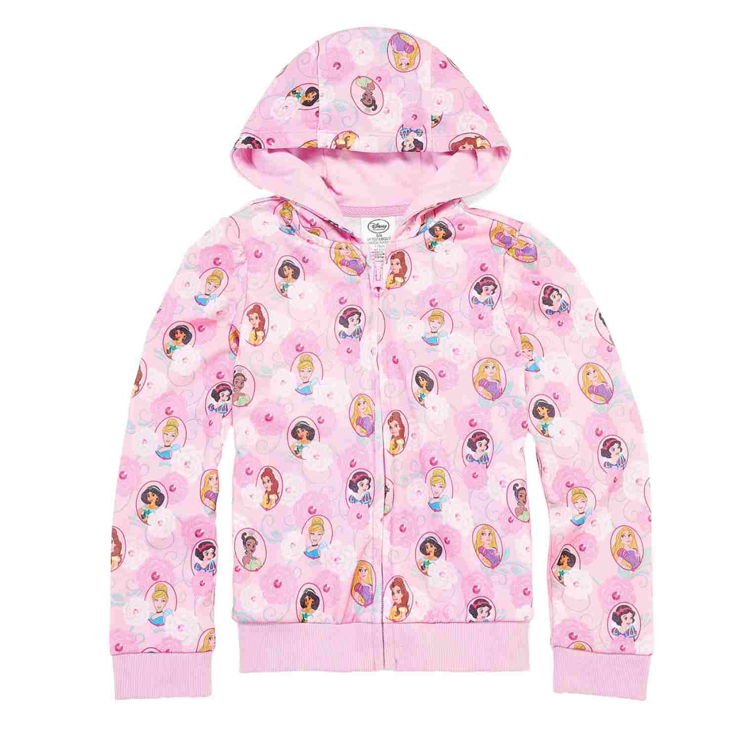 Disney Princess Hoodie for Girls Pink