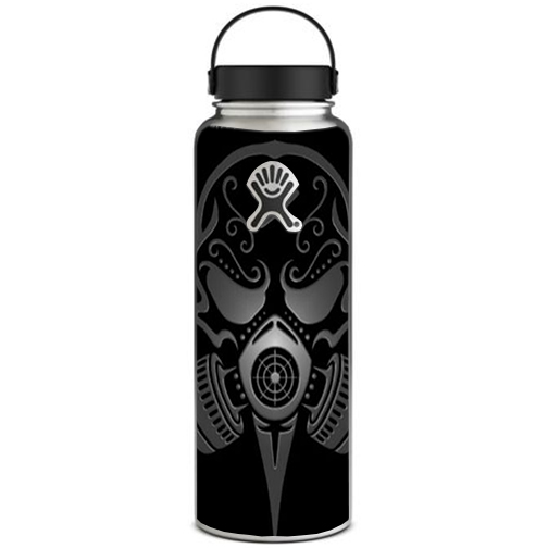 Skin Decal For Hydro Flask 40 Oz Wide Mouth   Gas Mask by Itsaskin