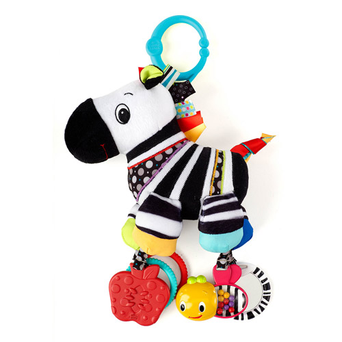Bright Starts Sensory Plush Pal Zebra