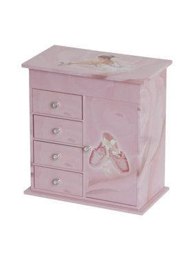Musical Ballerina Jewelry Box For Girl'S