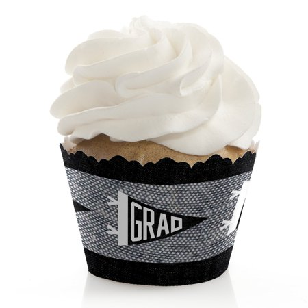 All Star Grad - Graduation Party Cupcake Wrappers - Set of 12](All Star Cupcakes)