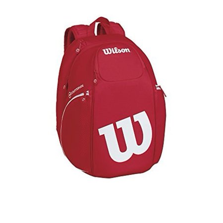 Wilson WRZ840796 Vancouver Tennis Bag Backpack - Red