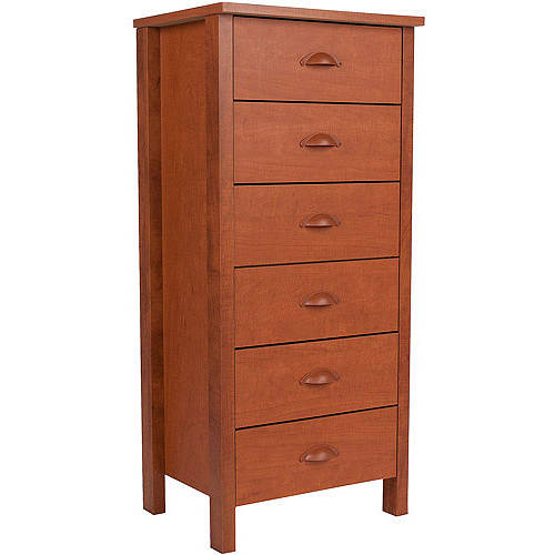 Nouvelle 6-Drawer Lingerie Bureau, Multiple Colors