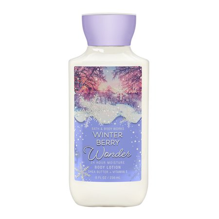 Bath & Body Works Winter Berry Wonder 8.0 oz 24 Hr Moisture Body Lotion - Bath And Body Works Halloween Lotion 2017