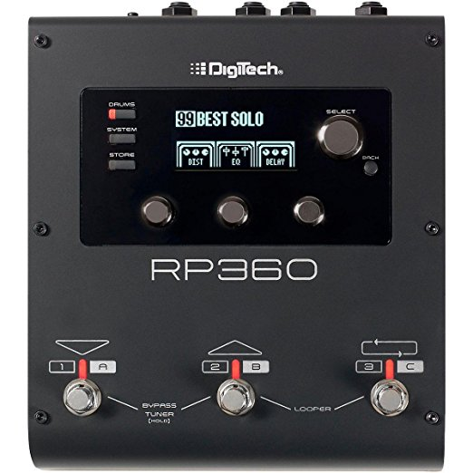 DigiTech RP360 Guitar Multi-Effect Floor Processor with USB Streaming by DigiTech