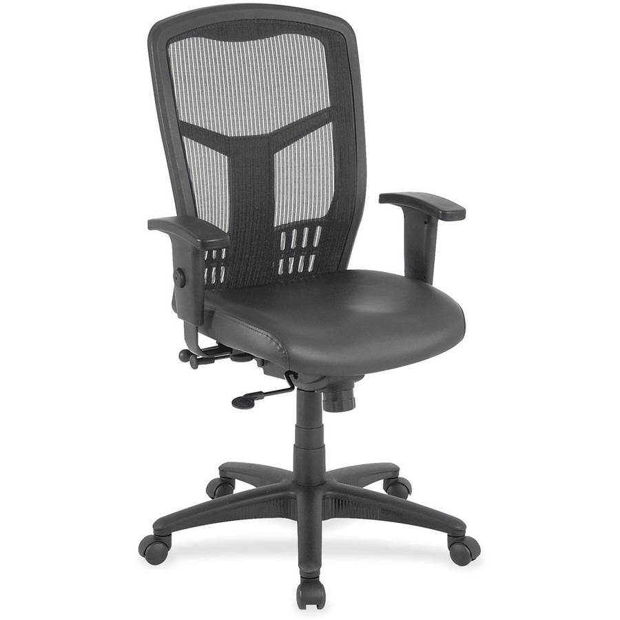 Lorell Executive High-Back Mesh Chair, Black