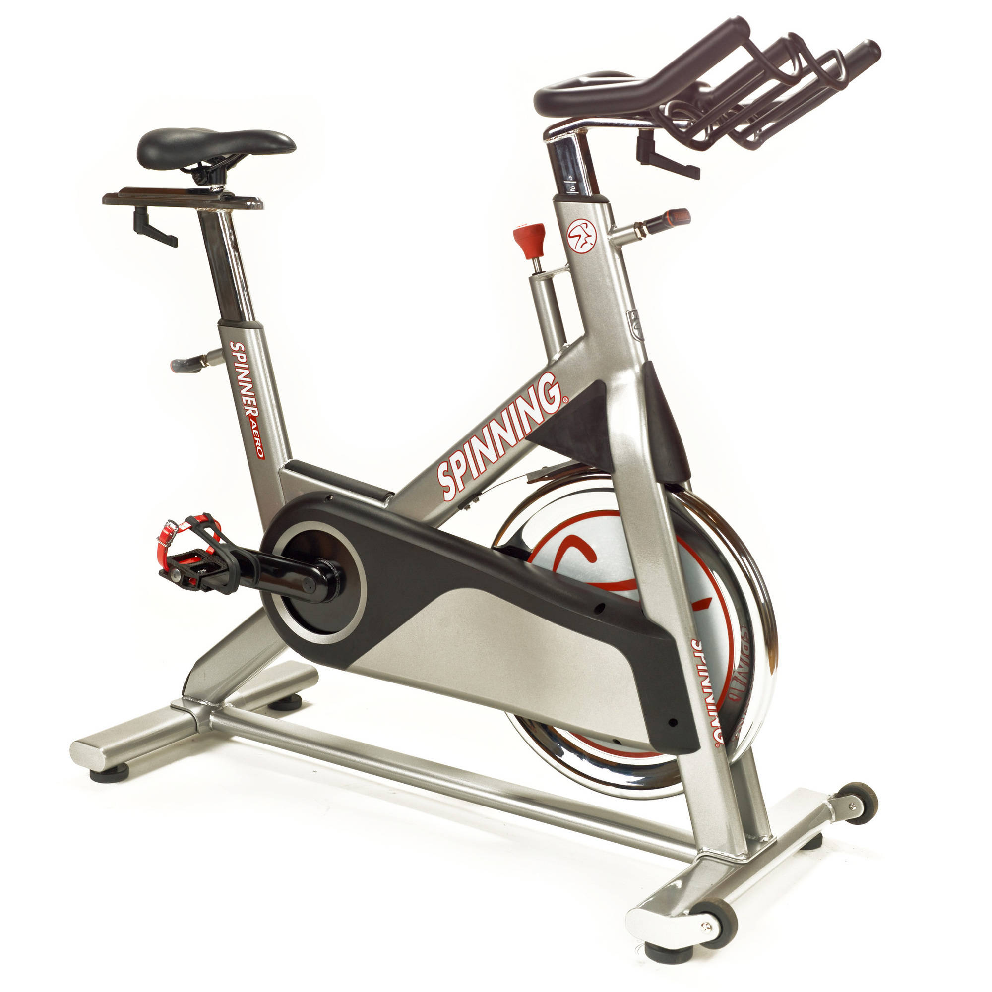 Spinner Aero Indoor Cycling Bike with 4 Spinning DVDs