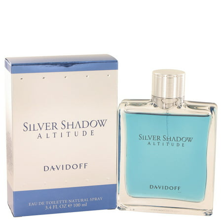 Davidoff Silver Shadow Altitude Eau De Toilette Spray for Men 3.4 oz