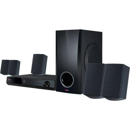 Lg 5 1 Channel 500 Watt 3D Blu Ray Surround Sound Home Theater System