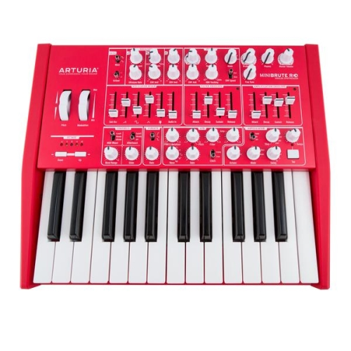 Arturia Minibrute red LIMITED EDITION Analog Synthesizer