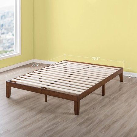 Red Barrel Studio Harlow Solid Wood Platform Bed Frame With Classic
