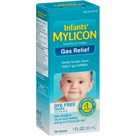 Mylicon Infant Gas Relief Dye Free Drops 1 Oz